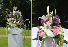 #Große #Blumengestecke #verleihen deiner #freien #Trauung den #Wow #Effekt - #outdoor #wedding #weddingideas #weddinginspiration