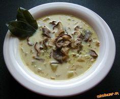 Fantastická hubová polievka so smotanou