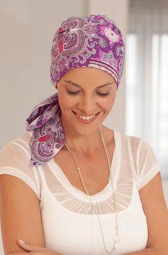 chemo headscarf - love!