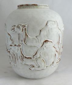 Mobach - grote vaas met kamelen