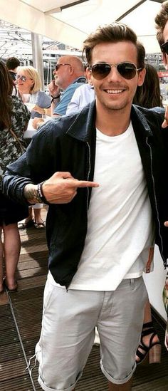 Louis in Monaco yesterday