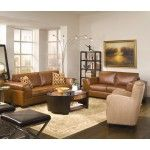 $1549.99  Coaster Furniture - Chelsea Contemporary Brown Bonded Leather Sofa Living Room Set - 26L120-SET