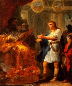 Cat‡logo de pinturas: José interpretando los sueños del Faraón (Hacia 1774-1775)