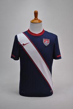 7d595789bfa93 Nike USMNT 2010 Road Jersey Shirt Dri-Fit Navy Size Youth SZ Small US Soccer