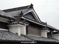 House with typical Udatsu in Wakimachi (Tokushima, Shikoku)