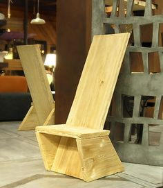 I really like this Plank Chair for our Oregon Trail study unit, but need someone to make plans!!