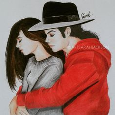 I'm dedicate this drawing to all MJ fans especially fangirl around the world. To those who are never get hugs from him, this just one dream for all. Spread of Michael Jackson's love is always! Michael Jackson Tattoo, Michael Jackson Fotos, Michael Jackson Drawings, Michael X, Memes Historia, Jackson's Art, Paris Jackson, Painting Inspiration, My Idol