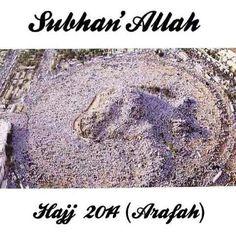 Hajj 2014 SubhanAllah!