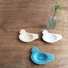 トリ豆皿の生みの親は、福岡でstudio potter koeda.というお名前で作陶されている中村智枝子さん。