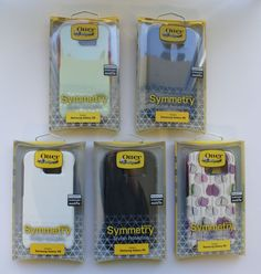 Otterbox Case Series Samsung Galaxy S6 New Oem 4 Symmetry Cases Fashion Commuter #OtterBox