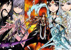 Magi: The Kingdom of Magic, Ren Koumei, Ren Kouha, Ren Kouen, Ren Kogyoku, Ren Hakuei - Kou Empire