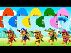 Learn with color Chase Paw Patrol, Learning videos, Paw Patrol Channel
