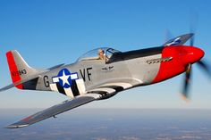 World War II fighter, P-51 Mustang I had fellow tell me that after flying a P-51 that had he been asked to trade his wife for a P-51 it would have been the longest and most dangerous pause in his life.