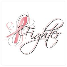 Breast cancer tattoo design: Fighter/survivor. Could be for any of the cancers. Would be nice to have it in teal for me.