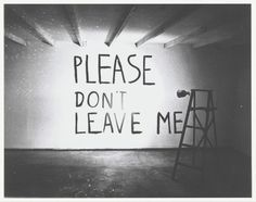 Bas Jan Ader - Please Don't Leave Me, 1969