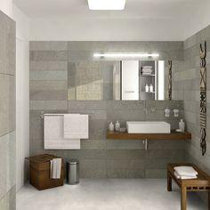Gerflor solidtex - Gravel Natural - 1577 0087 - 4 m Breite Solomons Flooring, Grey Vinyl Flooring, Style Sheet, Floor Colors, Classic Style, Minimalism, Modern, Inspiration, Bathroom
