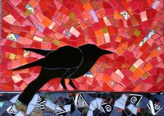 Crow in Red | Flickr - Photo Sharing!