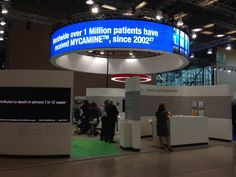 Mac Group Stands Astellas Pharma Stand in European Congress of Clinical Microbiology and Infectious Diseases - 3 Barcelona, Mac, Microbiology, Clinic, Death, Medical, Group, World, Fungi