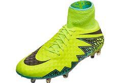 ffbb9fea495 Nike Hypervenom Phantom II FG Soccer Cleats - Volt   Hyper Turquoise -  SoccerPro.com