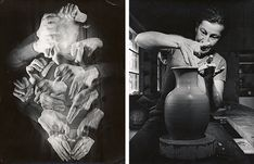 Bauhaus's ceramics workshop started out in Dornburg at the workshop of the master potter Max Krehan. Here, ceramic vessels, some of them experimental, were made in collaboration with the sculptor and master of form, Gerhard Marcks.