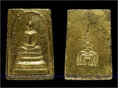 Thai Amulet LP Pae Phra Somdej Tri-mak Tan Bua