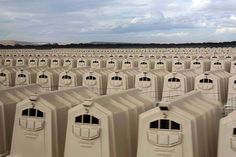 this is VEAL ! this is not graphic or gory . but no less deplorable, in Oregon. In each crate is a Calf, taken from it's mother minutes after birth, they live in these boxes unable to move 'to make their meat tender' death will ensue in 6 weeks. Factory Farming, Why Vegan, Stop Animal Cruelty, The Victim, Animal Welfare, Animal Rights, Going Vegan, First Photo, Game