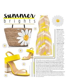 """""""Summer Brights"""" by janicevc on Polyvore featuring ALDO, MaxMara, Kate Spade, Monsoon and summerbrights"""