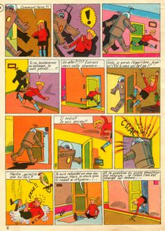 Martin le Malin   Album 16 - La Soucoupe Volante - Page #8