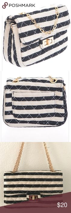 """NWT clutch / crossbody quilted bag New with tags, never worn, two tone quilted bag, can be worn as clutch, shoulder bag or crossbody. 7.5"""" x 5"""" x 3"""". Bags"""