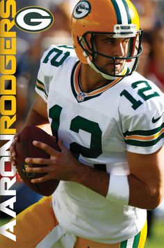 NFL Green Bay Packers Aaron Rodgers 2012 Poster