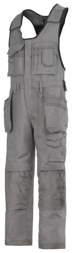 Amazing #onepiece trousers with holster pockets made in extremely comfortable yet durable Canvas+ fabric. Features an advanced cut with Twisted Leg™ design, Cordura® reinforcements for extra durability and Velcro tool fasteners, plus advanced knee protection and a comprehensive range of pockets. - Snickers Workwear Artnr 0214