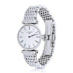 Refurbished Longines Women's L4.209.4 Le Grande Classique Steel Quartz Pre-owned Watch