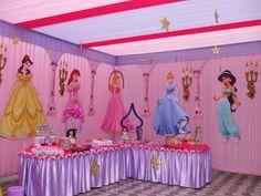 Cómo Decorar una Fiesta Infantil de Princesas