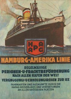 HAL Hamburg Amerika Linie. Buque Hamburg (1926)