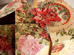 Kreatywny blog Koczes: 103- Świąteczne pudło