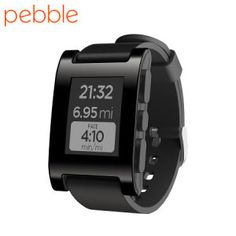Pebble Smartwatch for iOS and Android Devices - Jet Black £149.99