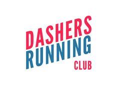 Dashers Running Club / Logo by Thomas Habr