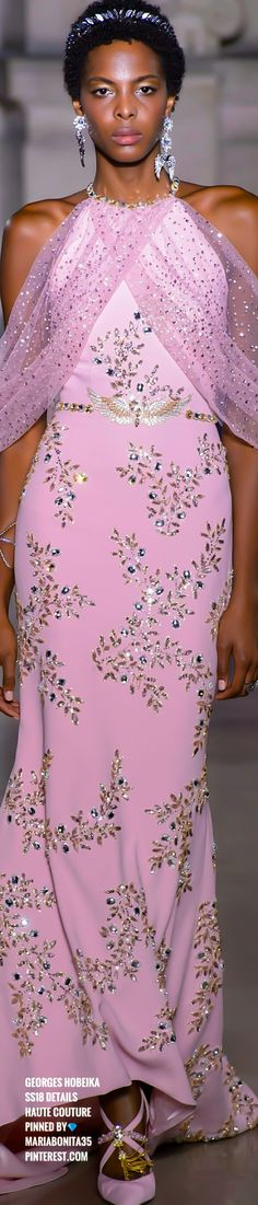 Georges Hobeika, Fashion 2018, High Fashion, Fashion Trends, Ladies Fashion, Women's Fashion, Evening Outfits, Evening Gowns, Gown Suit