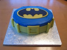 Batman Birthday Cake for Your Boys - Cakes By Kinsey