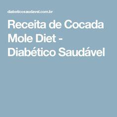 Receita de Cocada Mole Diet - Diabético Saudável