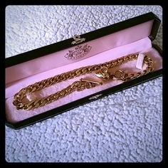 Juicy Couture Juicy Couture Banner Heart Starter Necklace Jewelry Necklaces Gold. Bracelet not included but I do have the bracelts to match the necklace. Ask for more info. Juicy Couture Jewelry Necklaces