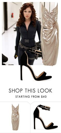 """""""Black Widow #2"""" by alxbaster02 ❤ liked on Polyvore featuring SCARLETT and River Island"""