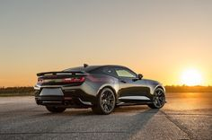 Hennessey Performance (HPE) introduces their newest super muscle car: THE EXORCIST TM. Based on the 2017 Chevrolet Camaro the Hennessey team radically Camaro Zl1, 2017 Chevy Camaro, Corvette, Chevrolet Dealership, The Exorcist, Car Tuning, Amazing Cars, Motor Car, Videos