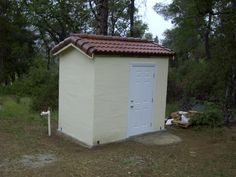 well+house+sheds | Here is the completed well house. We wanted a window to let in natural ...
