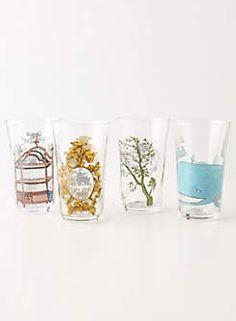 Anthropologie - Menagerie Glassware