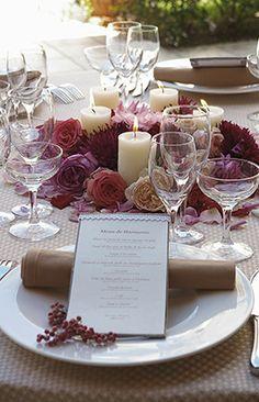 PEU・CONNU [MARIAGE]TABLE DE FLEURS #16
