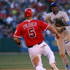 Los Angeles Dodgers v Los Angeles Angels of Anaheim