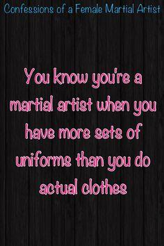 You know you're a martial artist when #McDojo #McDojoLife www.Facebook.com/McDojoLife