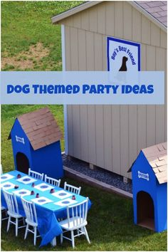 A Dog Themed Second Birthday Party - Spaceships and Laser Beams