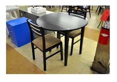 Breakfast Dining Set 3 Piece Table Chairs Kitchen Small Apartment Home Furniture #BreakfastDiningSet #Classic